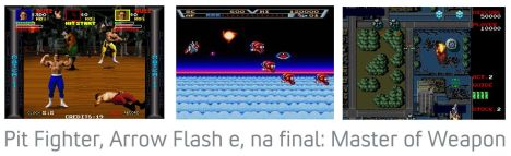 Pit Fighter, Arrow Flash e Master of Weapon