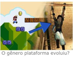 O gênero plataforma evoluiu?