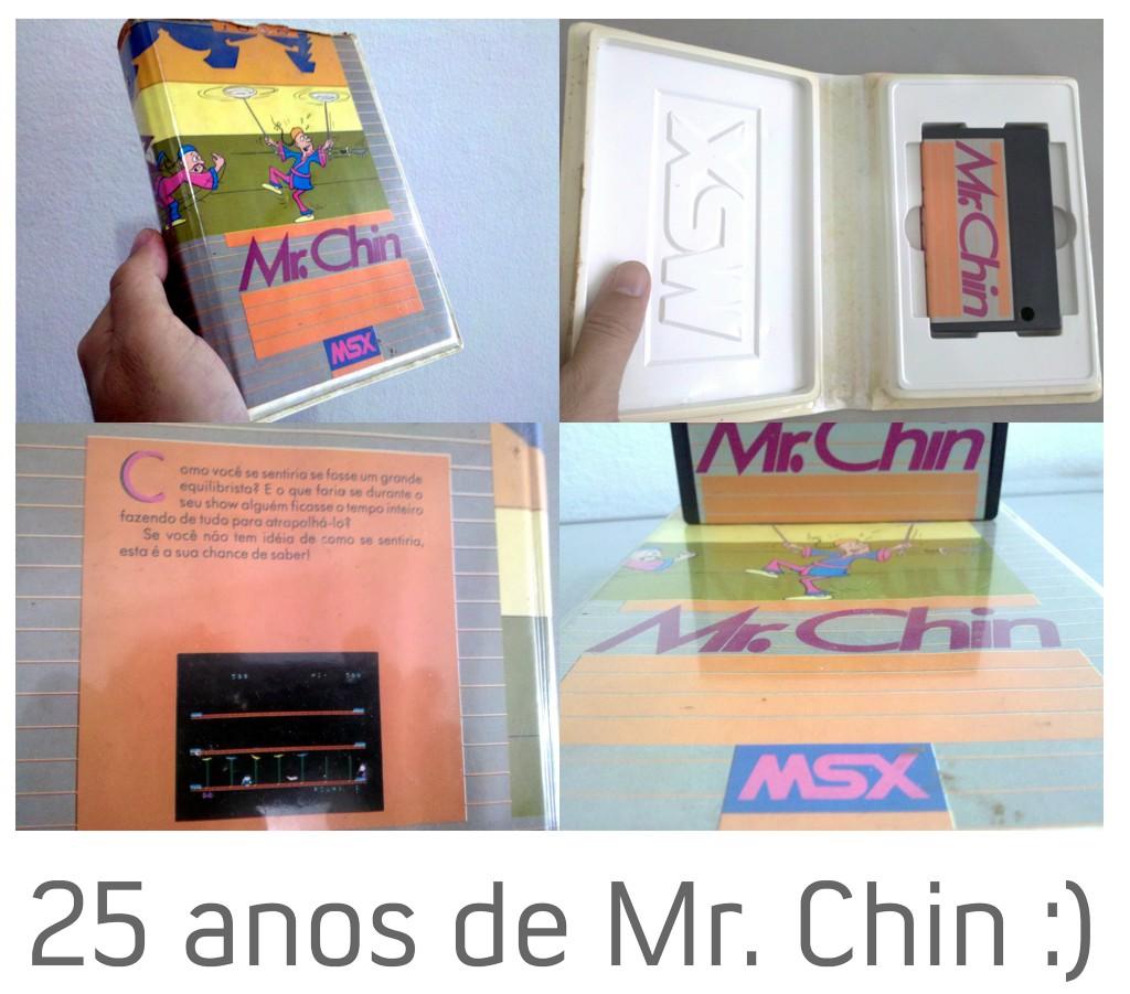 Mr  Chin (MSX)   Cosmic Effect - Videogames Ontem e Hoje
