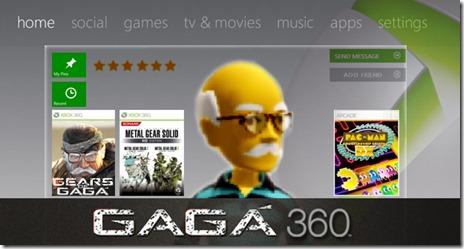 Xbox 360 Gagá Dashboard Exclusive