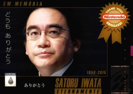 Satoru Iwata Eternamente